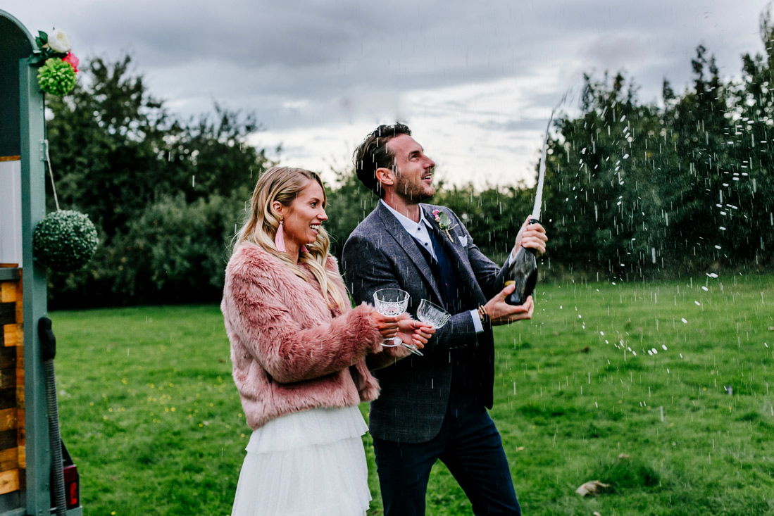 Alternative Kent Elopement Wedding photographer