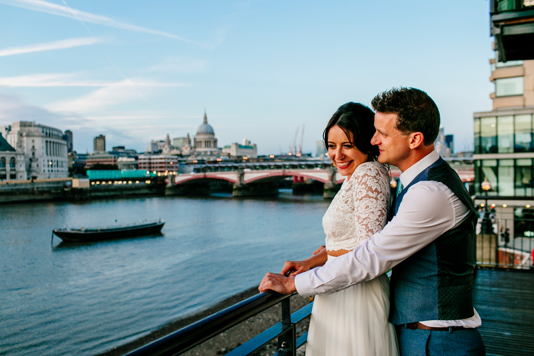 OXO 2 Alternative London wedding photographer