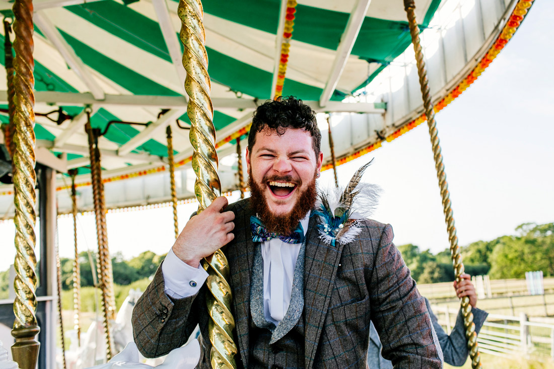 Quirky and fun London Wedding photographer