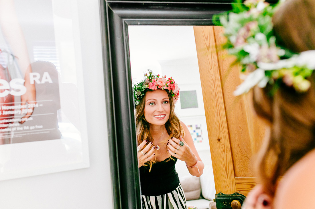 alternative london wedding photographer-boho-bride-ELS Photography