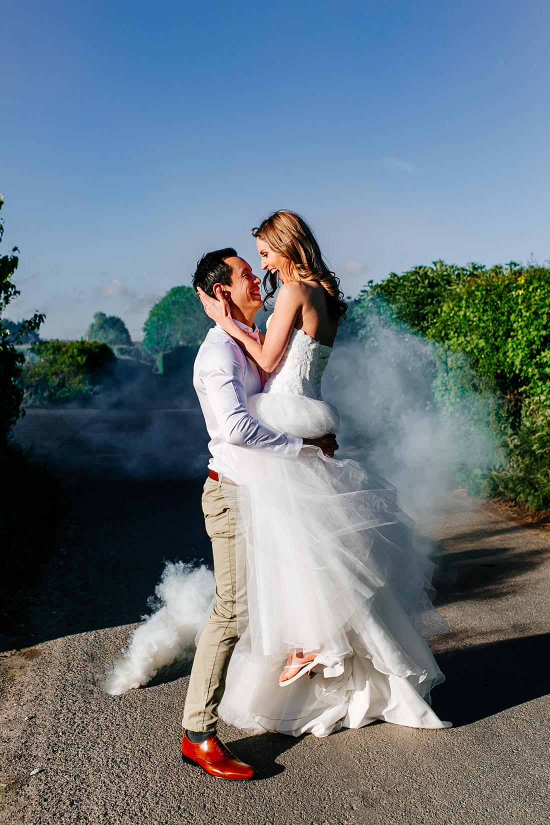 FUN kent wedding photographer