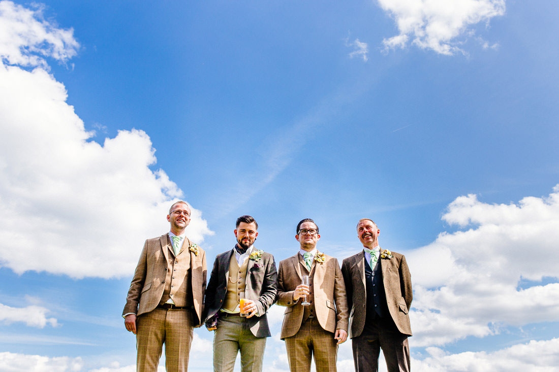 quirky-kent-wedding-photographer-tweed suits-els-photography