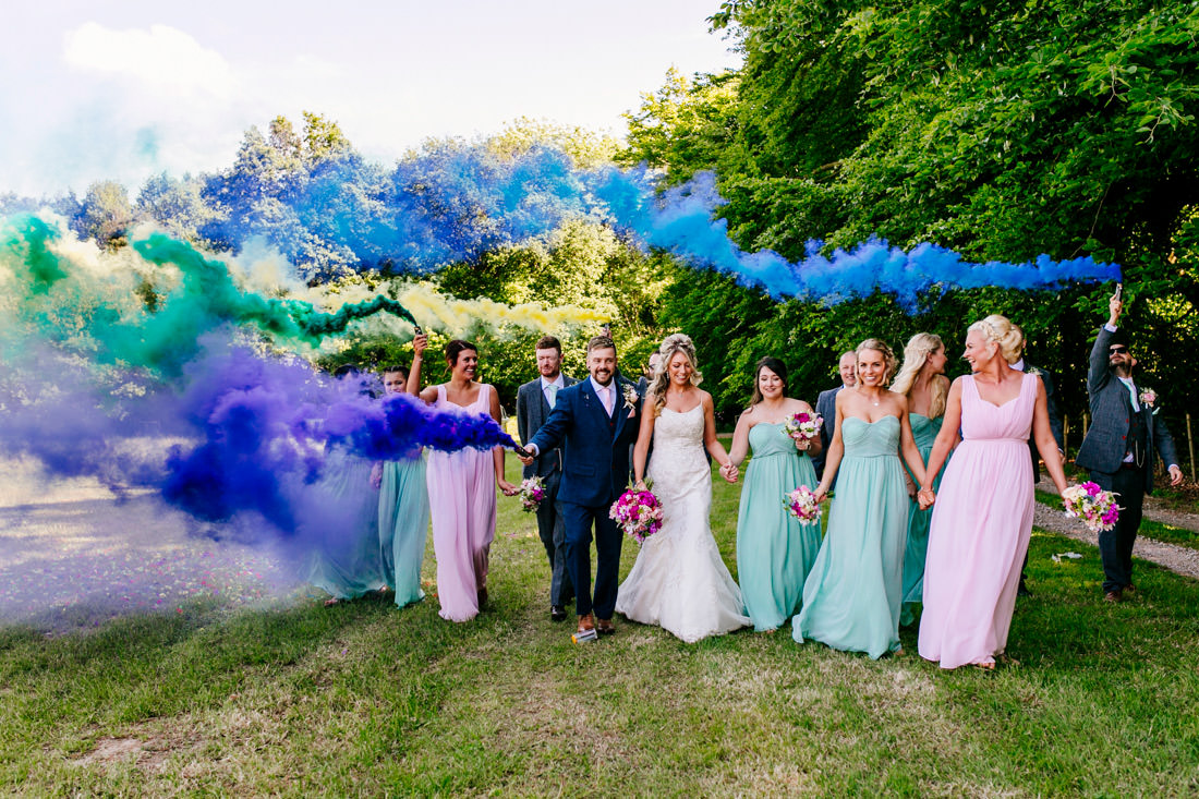 Fun kent-wedding-photographer-smoke bomb-Epic-Love-Story-132
