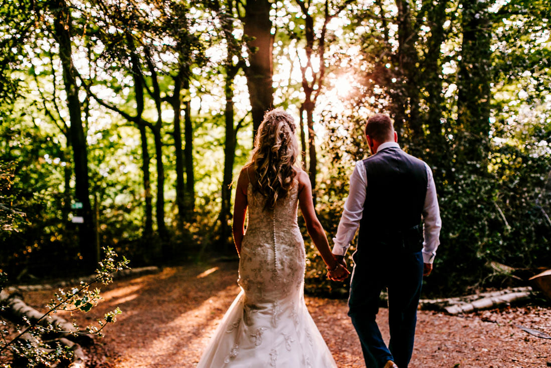 kent-wedding-photographer-woodland-wedding-Epic-Love-Story-sunset portrait