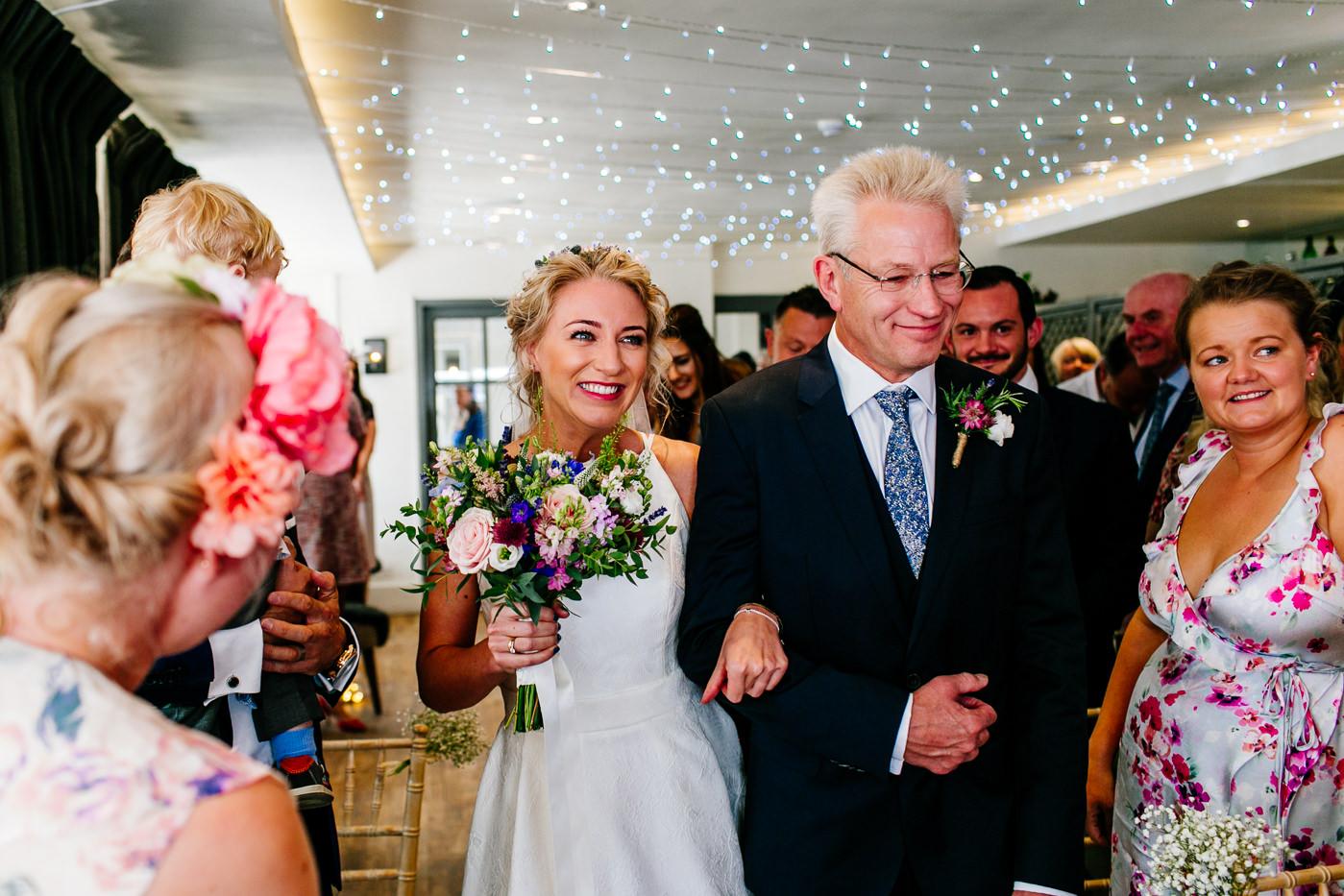 fun Hertfordshire wedding photographer