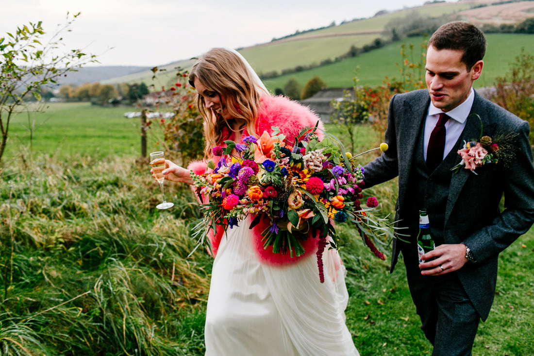 colourful-quirky-upwaltham-barns-sussex-wedding-photographer-Epic-Love-Story-128