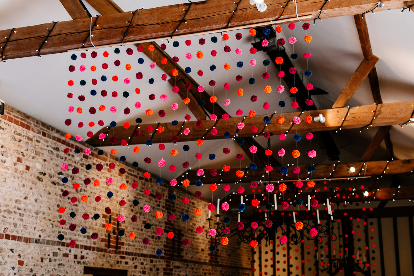 colourful-upwaltham-barns-sussex-wedding-photographer-020