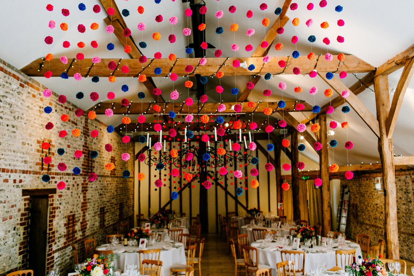 colourful-upwaltham-barns-sussex-wedding-photographer-021