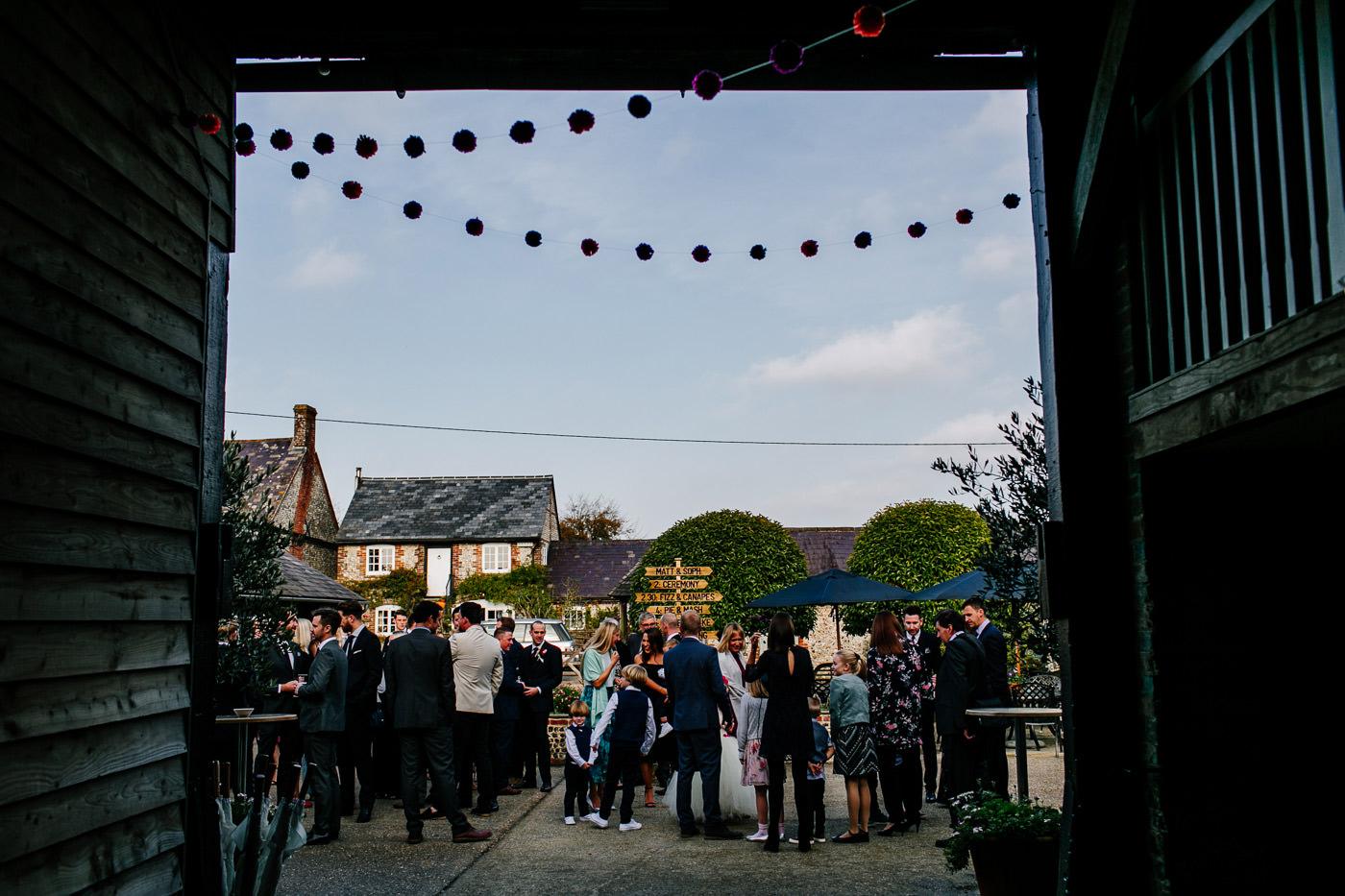 colourful-upwaltham-barns-sussex-wedding-photographer-028