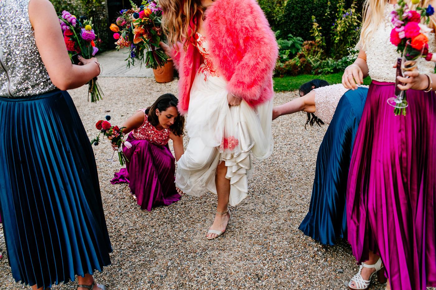 colourful-upwaltham-barns-sussex-wedding-photographer-050