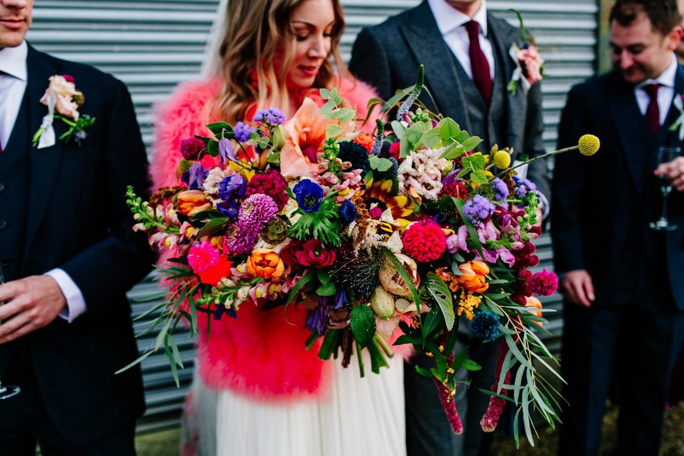 colourful-upwaltham-barns-sussex-wedding-photographer-053