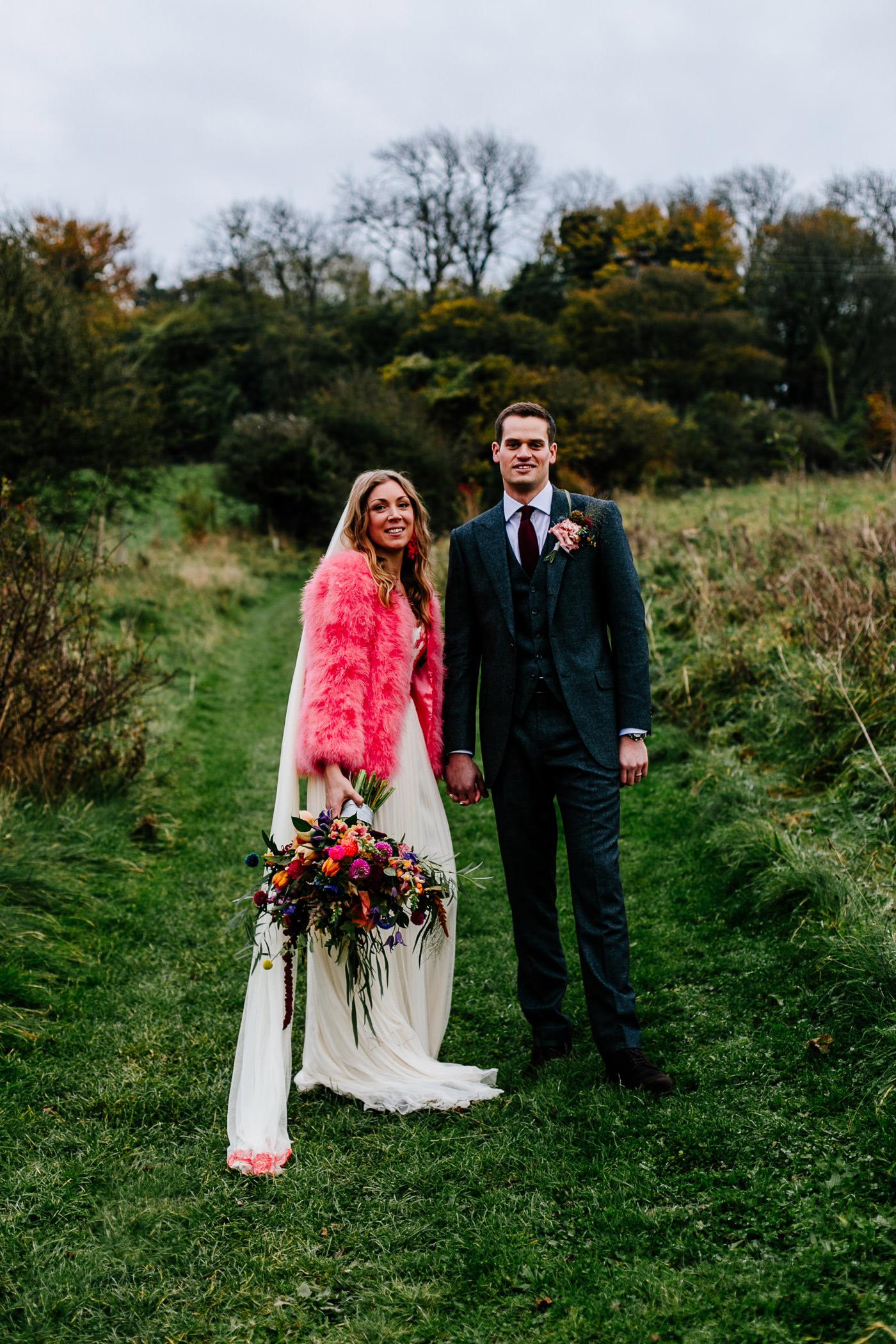 colourful-upwaltham-barns-sussex-wedding-photographer-063