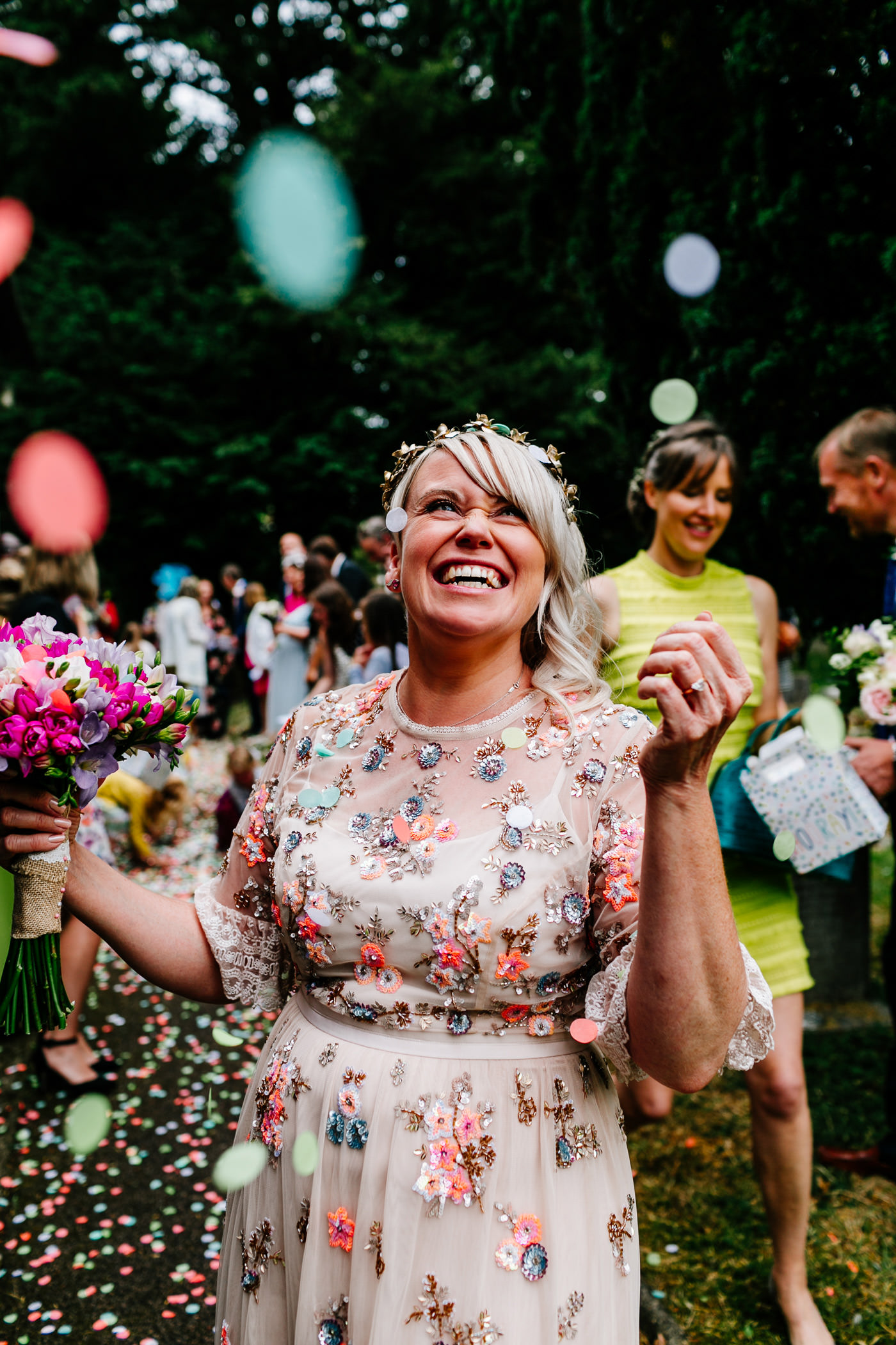 cool Devon wedding photographer
