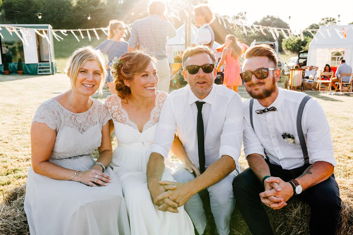 relaxed devon wedding photographer