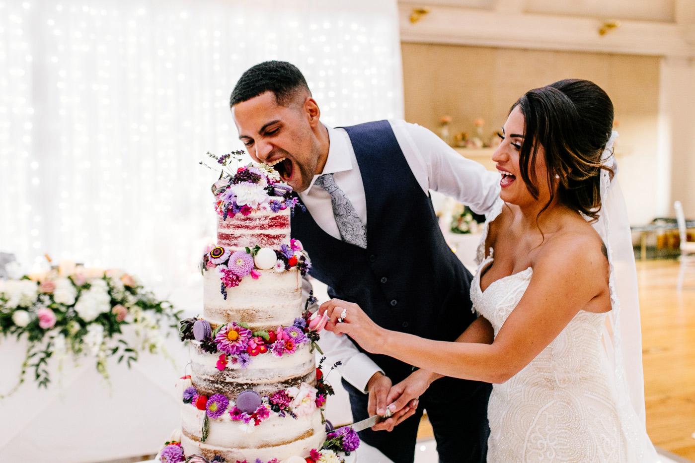 fun Scotland wedding photographer