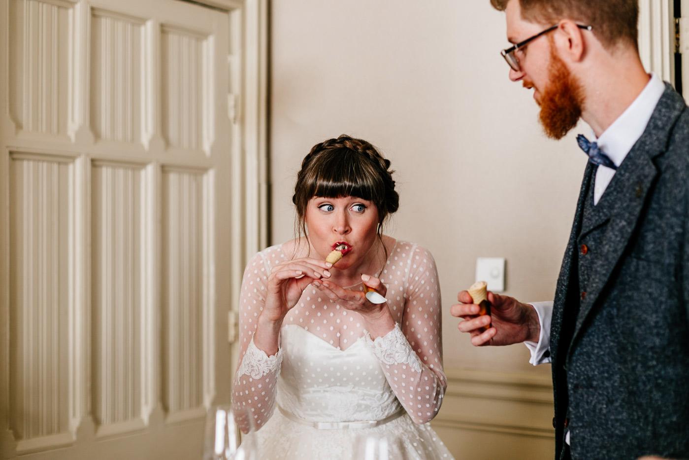 quirky scotland wedding photographer