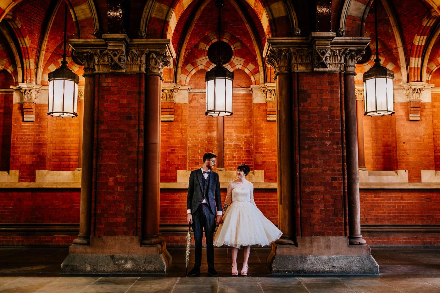 alternative, quirky scotland wedding photographer