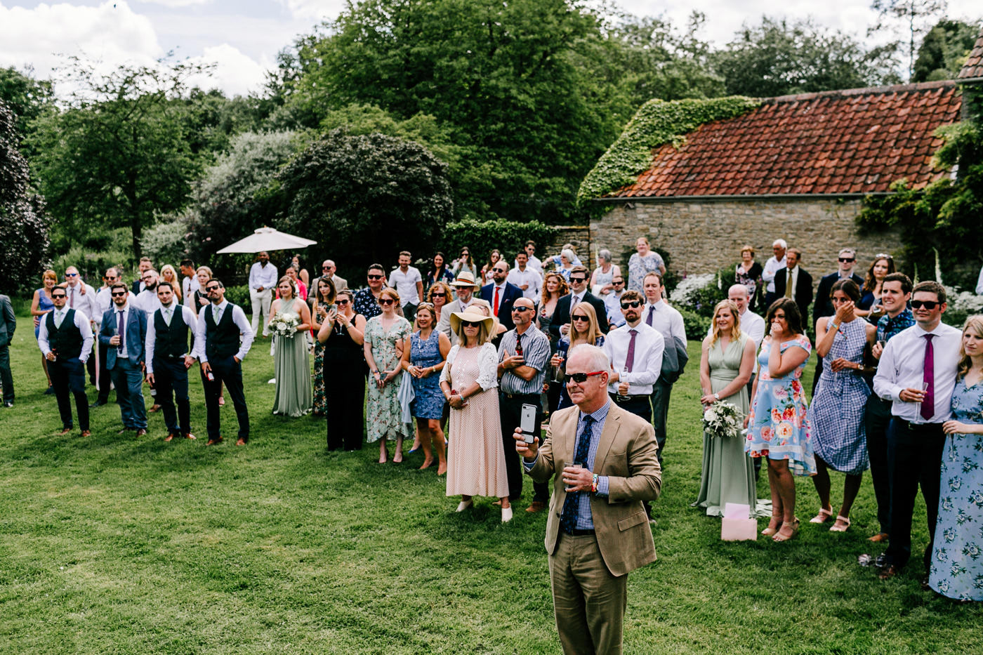 Church farm chippenham wedding