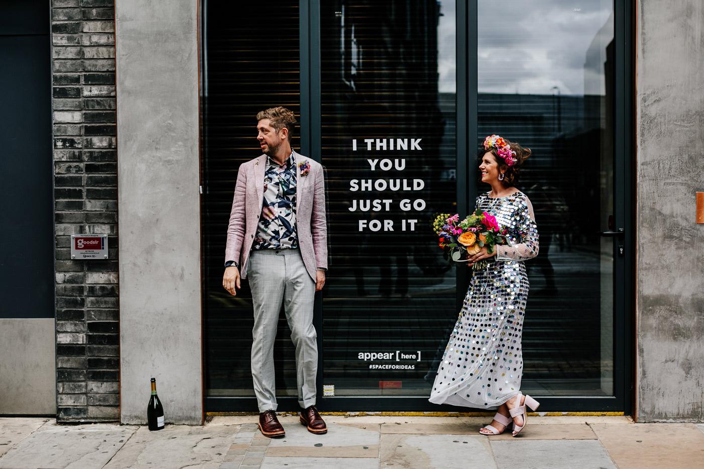 Ace Hotel, shoreditch edgy wedding photographer