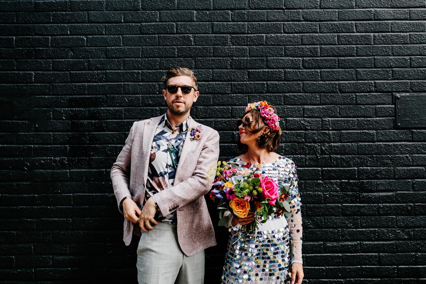 alternative fun london wedding photographer