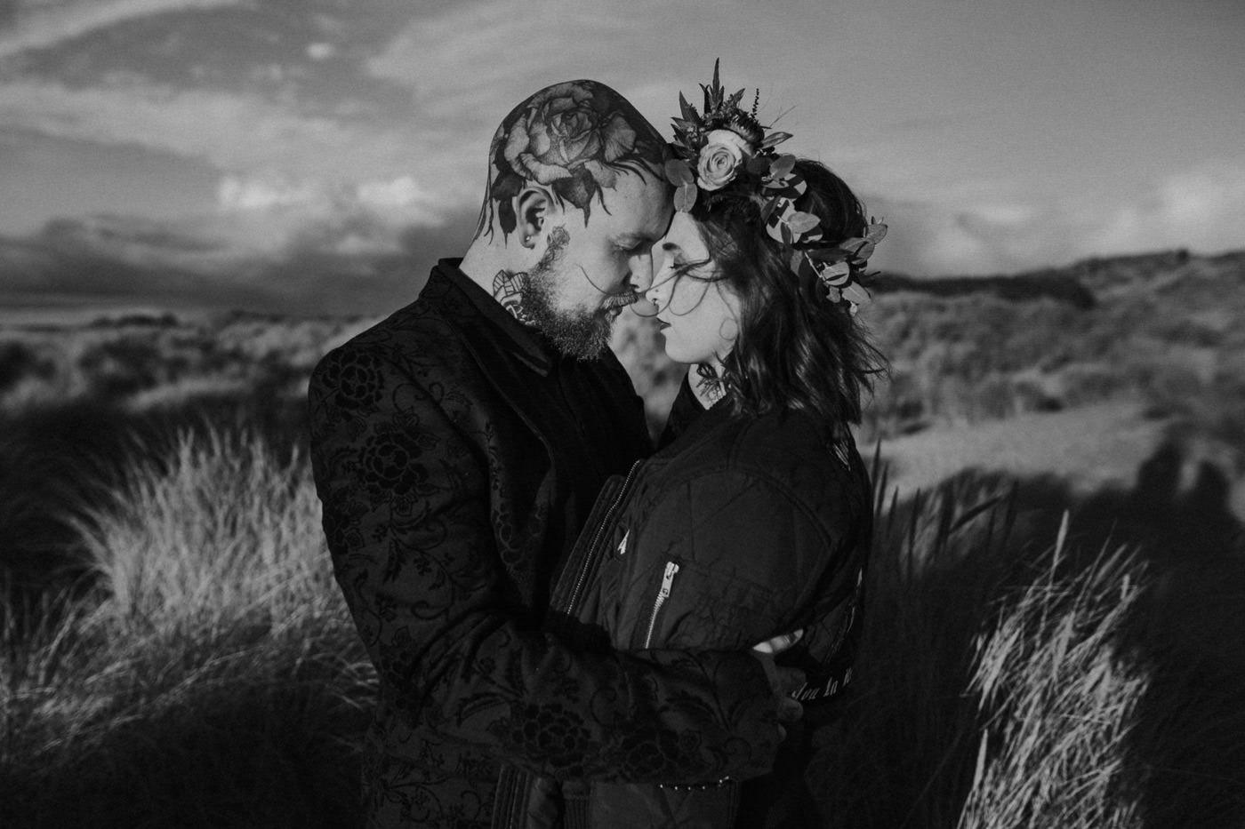 alternative, DUBLIN wedding photographer