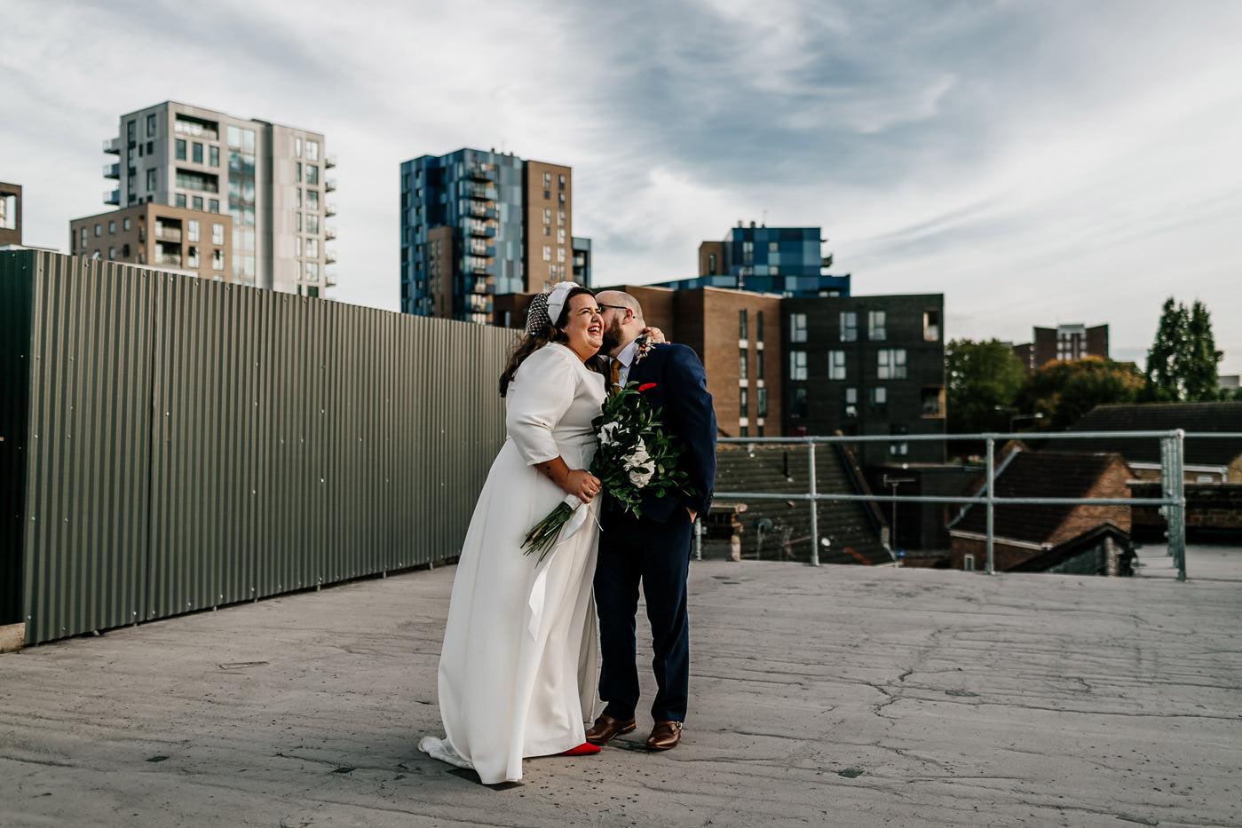 alternative london wedding photographer - one friendly place venue