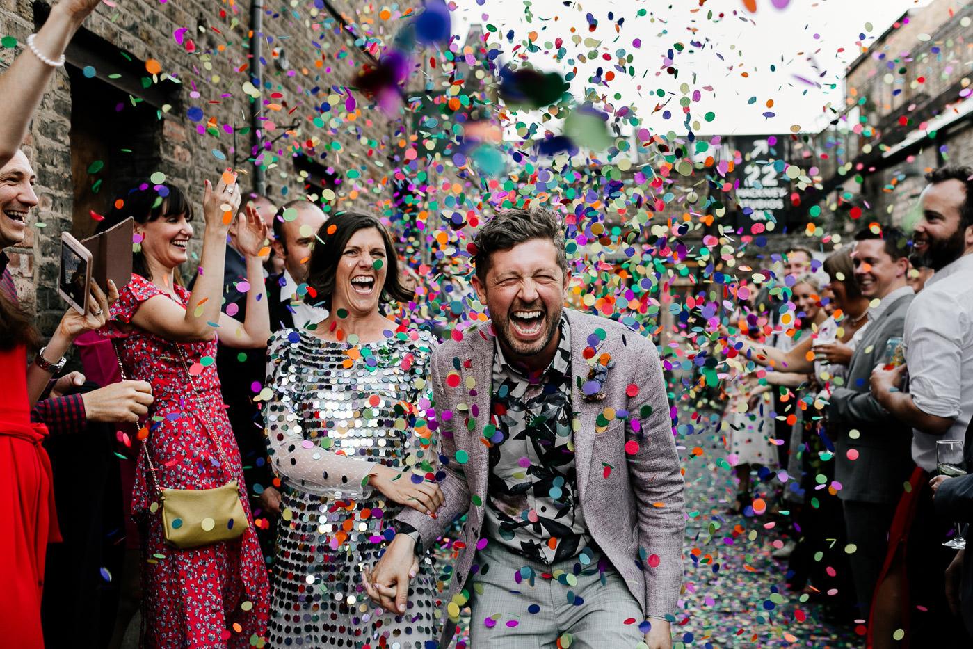 alternative, fun, london wedding photographer