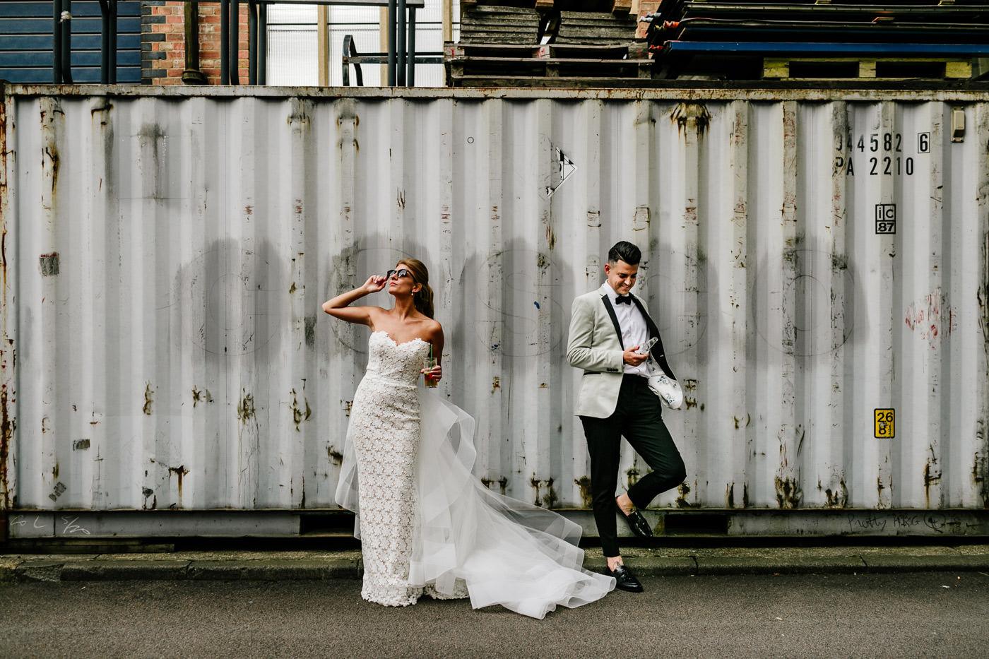 quirky Dublin wedding photographer