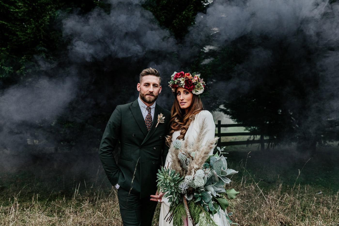 alternative, quirky, scotland wedding photographer