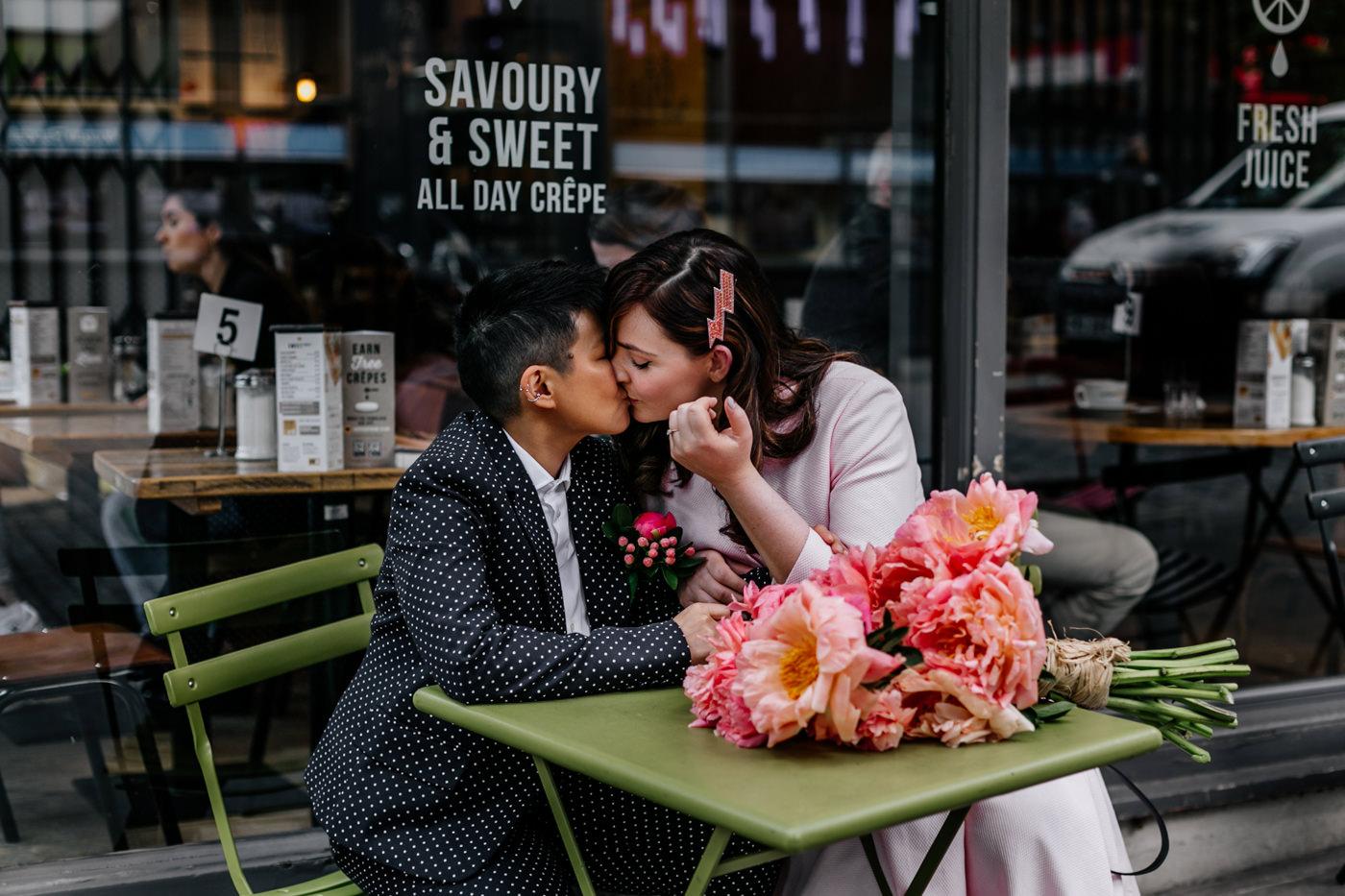 same sex london wedding photographer - islington town hall