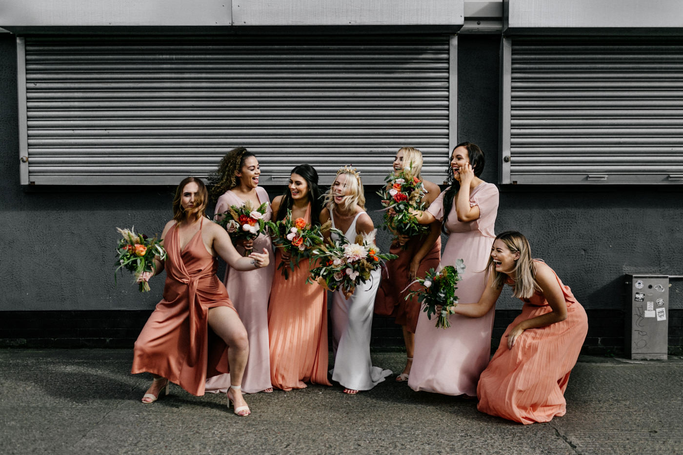 cool alternative london wedding photographer